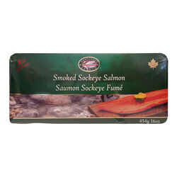Westcoast Select Saumon Sockeye Fumé 16OZ
