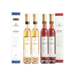 Peller Assorti: 2 Vidal, 2 Cabernet Franc Vin de glace  |   4 x 200 ml  |  Canada