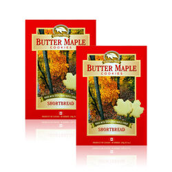 Canada True Maple Shortbread Cookies 2 X 240G