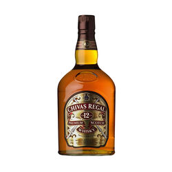 Chivas Regal 12 year Scotch whisky   |   1 L   |   United Kingdom  Scotland