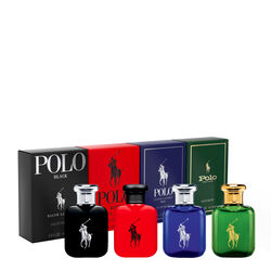 Ralph Lauren World of Polo Collection of Fragrance x4