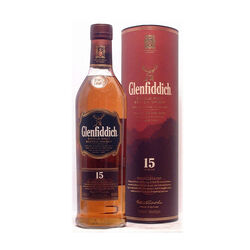 Glenfiddich Solera 15 ans Single malt  Whisky écossais   |   750 ml|   Royaume Uni  Écosse