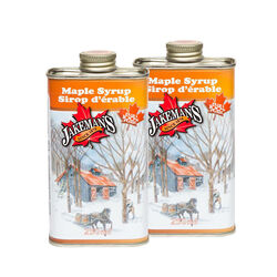 Jakemans Maple Syrup in Decorative Tins 2 X 250ML