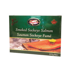Westcoast Select Saumon Sockeye Fumé 8OZ