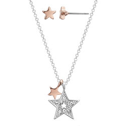 Buckley You're A Star Earring And Pendant Set  One Size