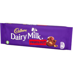 Cadbury Cadbury Dairy Milk Fruit And Nut Bar 300g