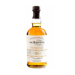 Balvenie 16 Year Old Triple Cask Single Malt Scotch Whisky Scotch whisky   |   700 ml  |   United Kingdom  Scotland
