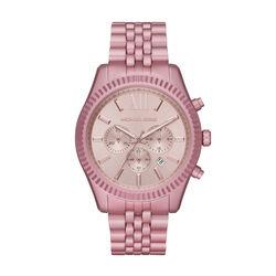 Michael Kors Lexington Chronograph Pale Pink Aluminum