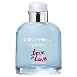 Dolce and Gabbana Light Blue Love Is Love Pour Homme Eau De Toilette 125ml