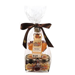 Biodelices Trio of organic maple syrup, maple sugar and maple jelly