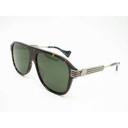 Gucci Gg0587S-002 57 Sunglasses Man Acetate GG0587S-002
