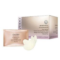 Shiseido Benefiance WrinkleResist24 Pure Retinol Express Smoothing Eye Mask -12 Packets