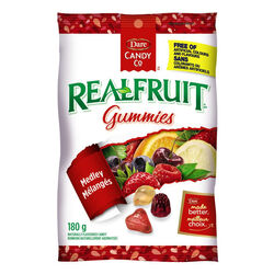 Dare Dare Real Fruit  Jujubes mélangés - sac 180G
