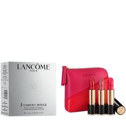 LANCÔME L'Absolu Rouge Trio With Pouch 3.4g x 3