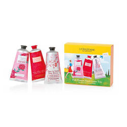 L 'Occitane Trio Floral De Cremes Mains 3X75ml