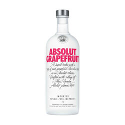 Absolut Grapefruit Flavoured vodka (grapefruit)   |   1L   |   Sweden