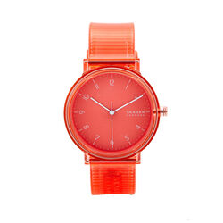 Skagen Large Coral Dial Rose Stainless Mesh 41mm