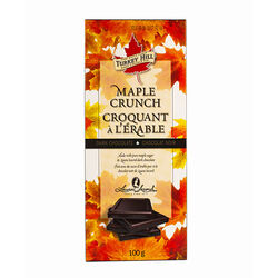 Turkey Hill Maple Crunch Dark Chocolate Bar 100G