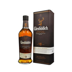 Glenfiddich 18 ans Highland Scotch Single Malt  Whisky écossais   |   700 ml|   Royaume Uni  Écosse