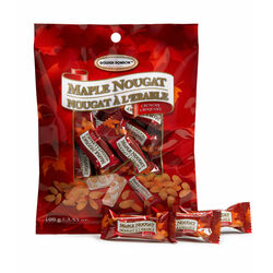 Canada True Maple Nougat Crunchy 100g Bag