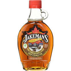 Jakemans Maple Syrup in a Glass Bottle 250ML