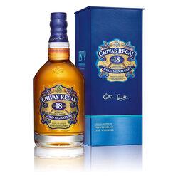 Chivas 18yo Scotch whisky   |   1 L   |   United Kingdom  Scotland