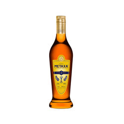 Metaxa 7 Stars Gold Label  Brandy   |   750 ml   |   Grèce