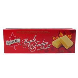 Turkey Hill Maple Fudge  210g