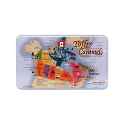 Canadatin Canada Tin Maple Toffee 250g