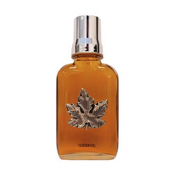 Turkey Hill Maple Syrup in Glass Flask with pewter accents 100ML