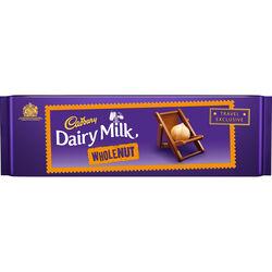 Cadbury Dairy Milk Whole Nut Bar  300g