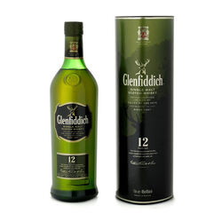 Glenfiddich 12 Years Old Highland Scotch Single Malt  Scotch whisky   |   750 ml   |   United Kingdom  Scotland