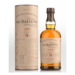 Balvenie 14 Year Old Peated Cask Single Malt Scotch Whisky Scotch whisky   |   700 ml  |   United Kingdom  Scotland