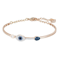 Swarovski Duo Bangle Evil Eye 5.9/4.5cm