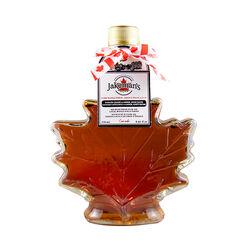 Jakemans Maple Syrup Leaf Glass Bottle 250ml