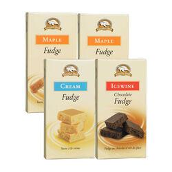 Canada True Maple, Icewine and Cream fudge 4 X 50G