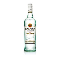 Bacardi Superior White rum   |   1L   |   Puerto Rico