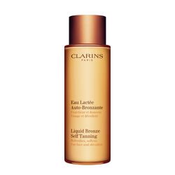 Clarins Eau lactée Auto-Bronzante Visage et Décolleté 125 ml