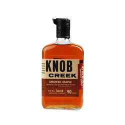 Knob Creek Maple Kentucky Straight Bourbon  American whiskey   |   750 ml  |   United States  Kentucky