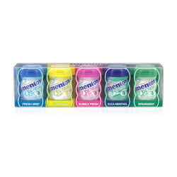 Mentos Mini Gum Bottles 5x20g