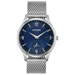 Citizen Eco-Drive Round Stainless Steel Watch