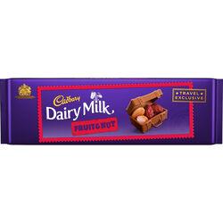 Cadbury Dairy Milk Fruit And Nut Bar  300g