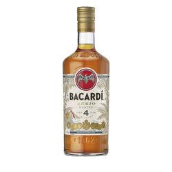 Bacardi Cuatro 4Yo Rum  1L