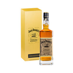 Jack Daniels No.27 Gold Tennessee Whiskey, Liqueur   |   700 ml   |   United States  Tennessee