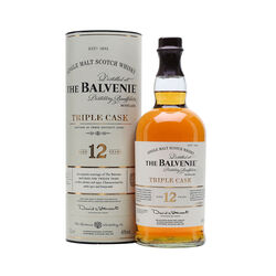 Balvenie 12 Year Old Triple Cask Single Malt Scotch Whisky Scotch whisky       1 L       United Kingdom  Scotland