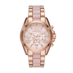 Michael Kors Bradshaw Chronograph Rose Gold SS with Ace