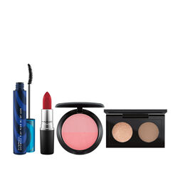Mac M·A·C Voyage Exclusif: Warm Look In A Box
