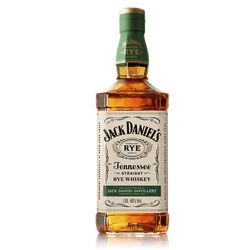 Jack Daniels Straight Rye  Whiskey américain   |   1 L  |   États-Unis  Tennessee