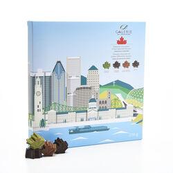 Galerie Au Chocolat Souvenir Montreal Box 216g
