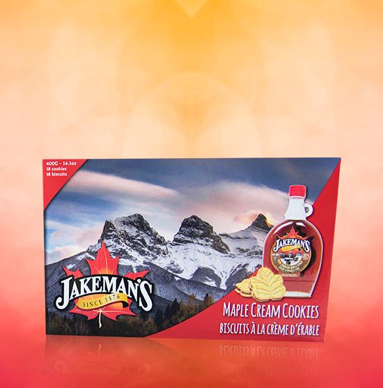 JAKEMANS MAPLE CREAM COOKIES